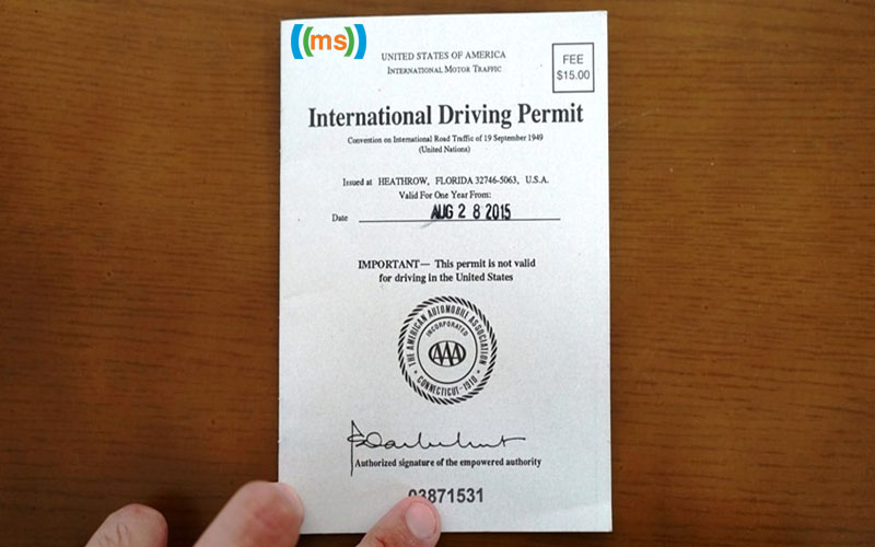 Đổi bằng lái xe quốc tế tại Sở GTVT