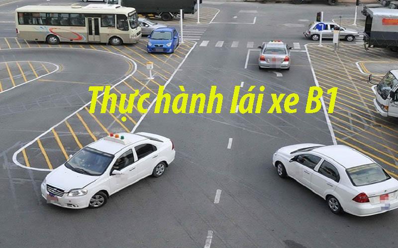 Thực hành lái xe B1