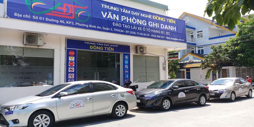 Trung tâm đào tạo lái xe Đồng Tiến