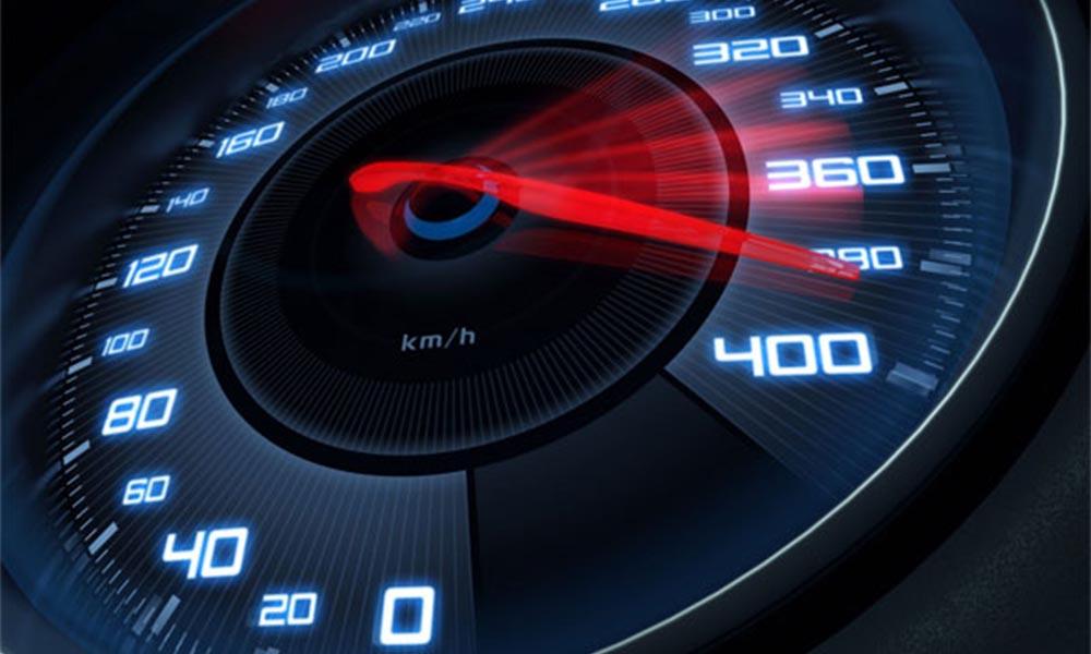 Kiểm soát được tốc độ khi lái xe
