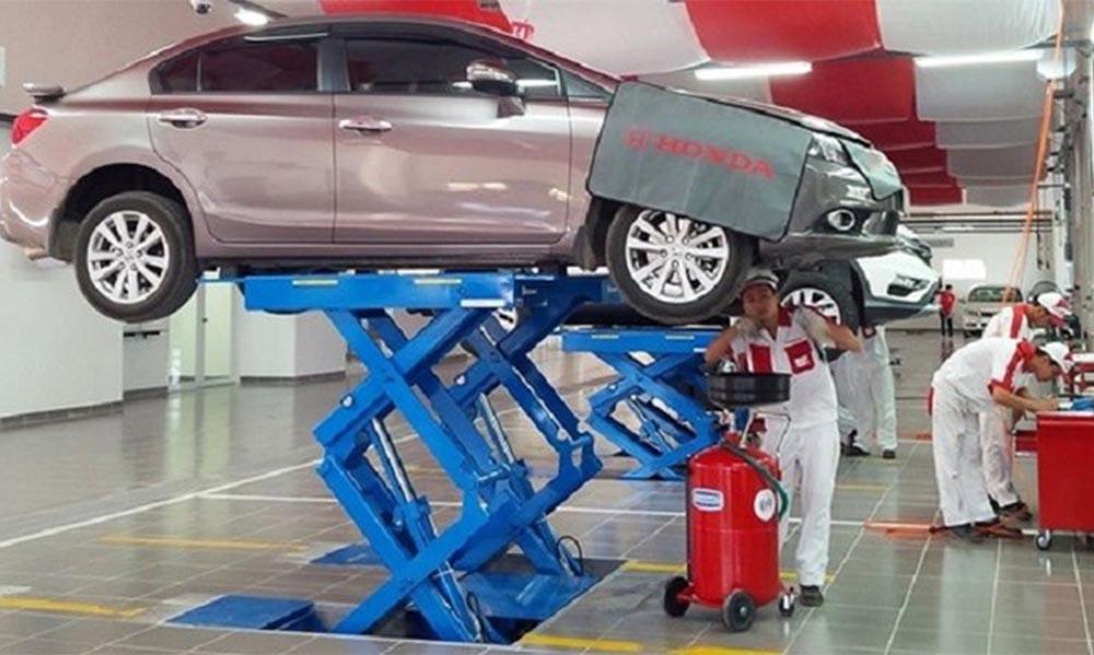 Xe cần phải sửa chữa, bảo dưỡng để kiểm định lại