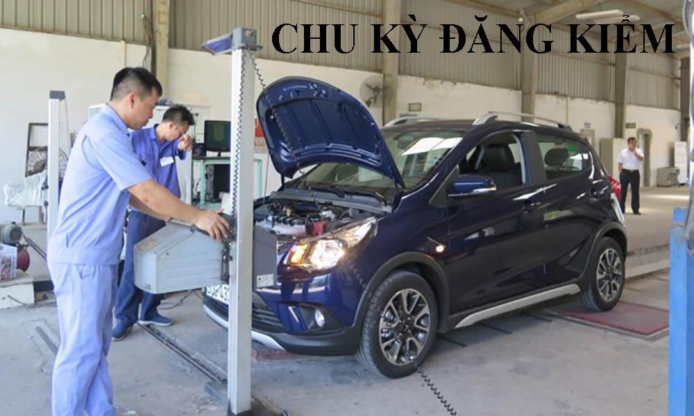 Chu kỳ đăng kiểm các loại xe