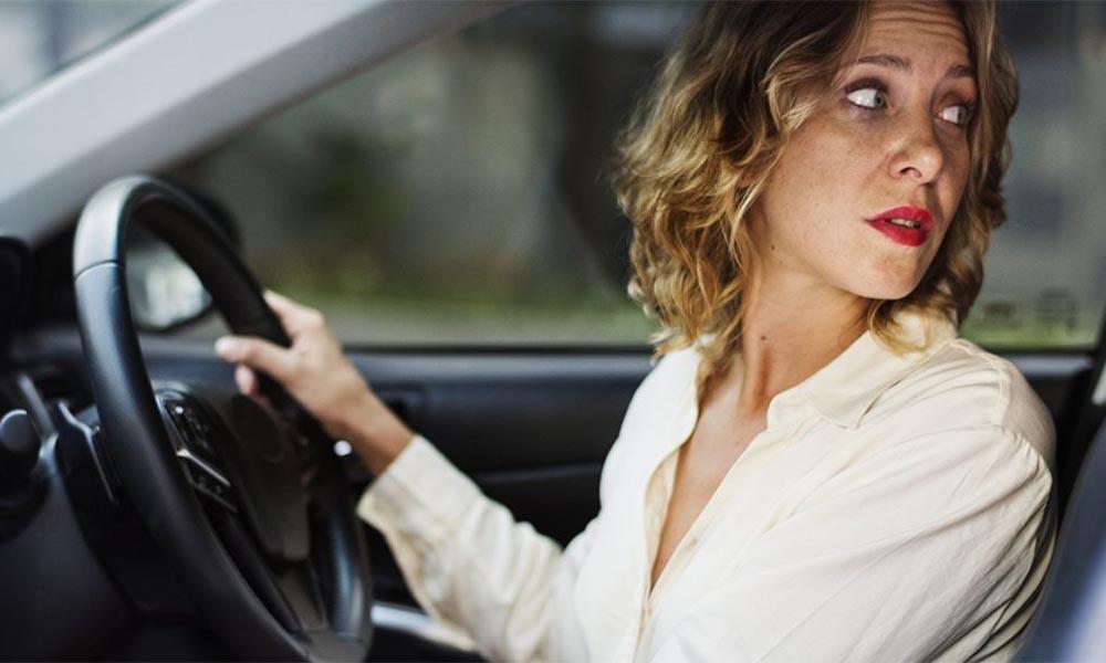 Một số lỗi thường gặp khi lùi xe