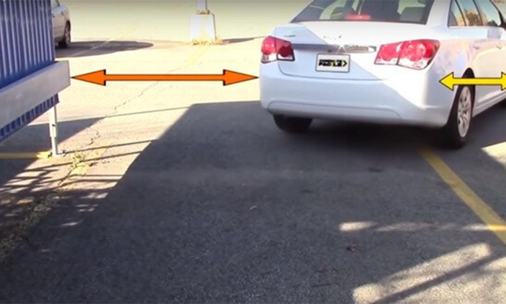 Ước lượng và định hình vị trí lùi xe